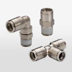 Brass Push-in Fittings image